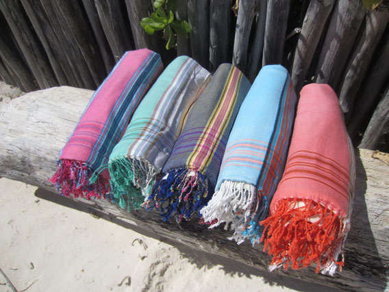 Sarong Towels - Surf: Fringeless